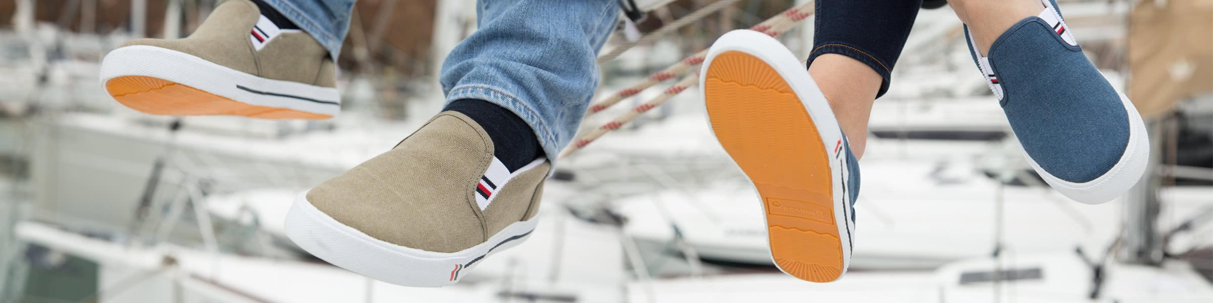 Zapatos y botas náuticas
