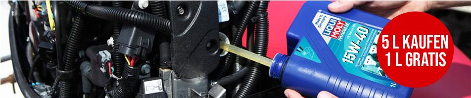 LIQUI MOLY Motoröl 15W-40 Jetzt 5L kaufen und 1L gratis erhalten!