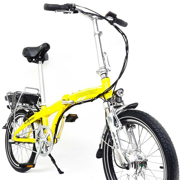 Folding bicycle ebike