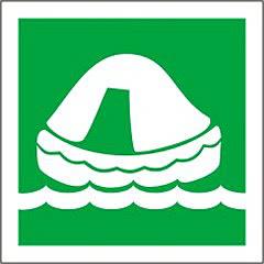 Icon life raft