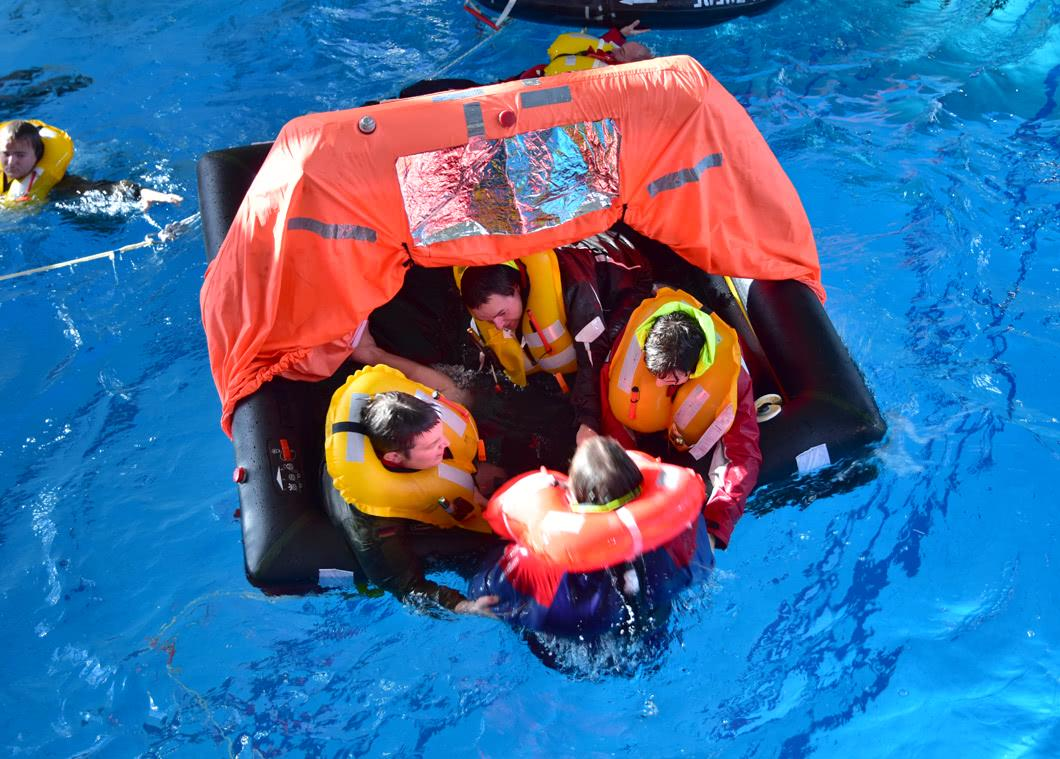 Activating the Life Raft in an Emergency