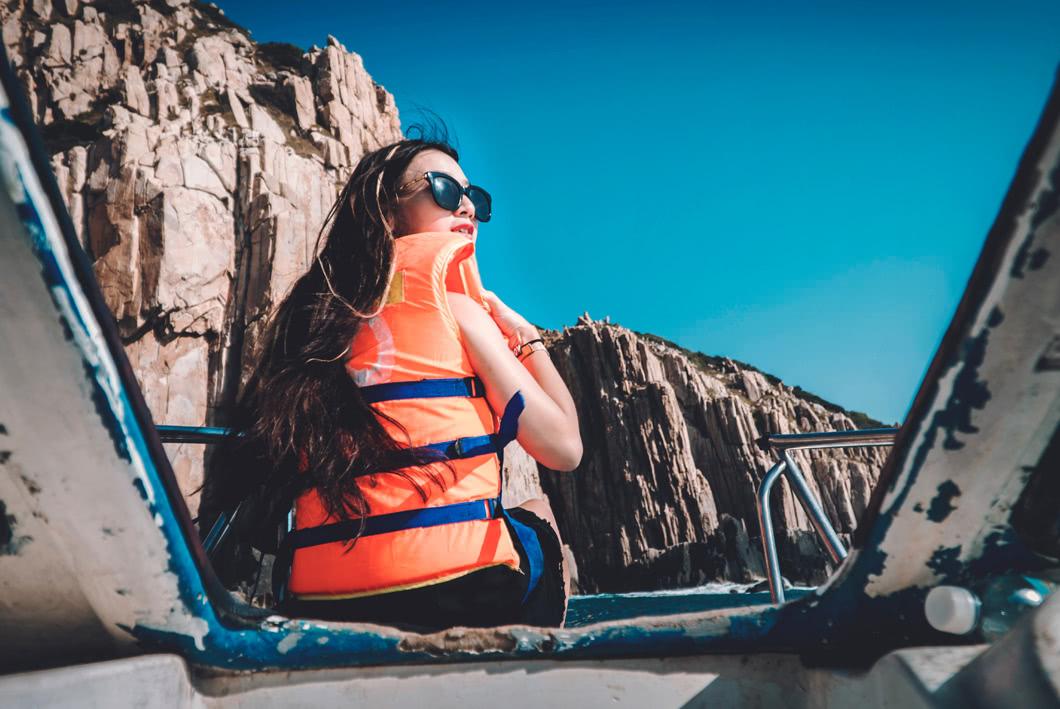Life jackets mood image