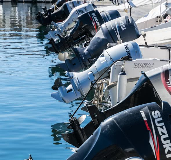 Choosing the Right Outboard Engine SVB | Yacht and boat