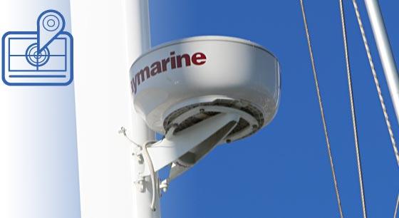 Radar am Mast