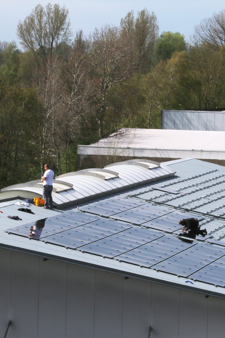 100% renewable energy: our very own solar power system