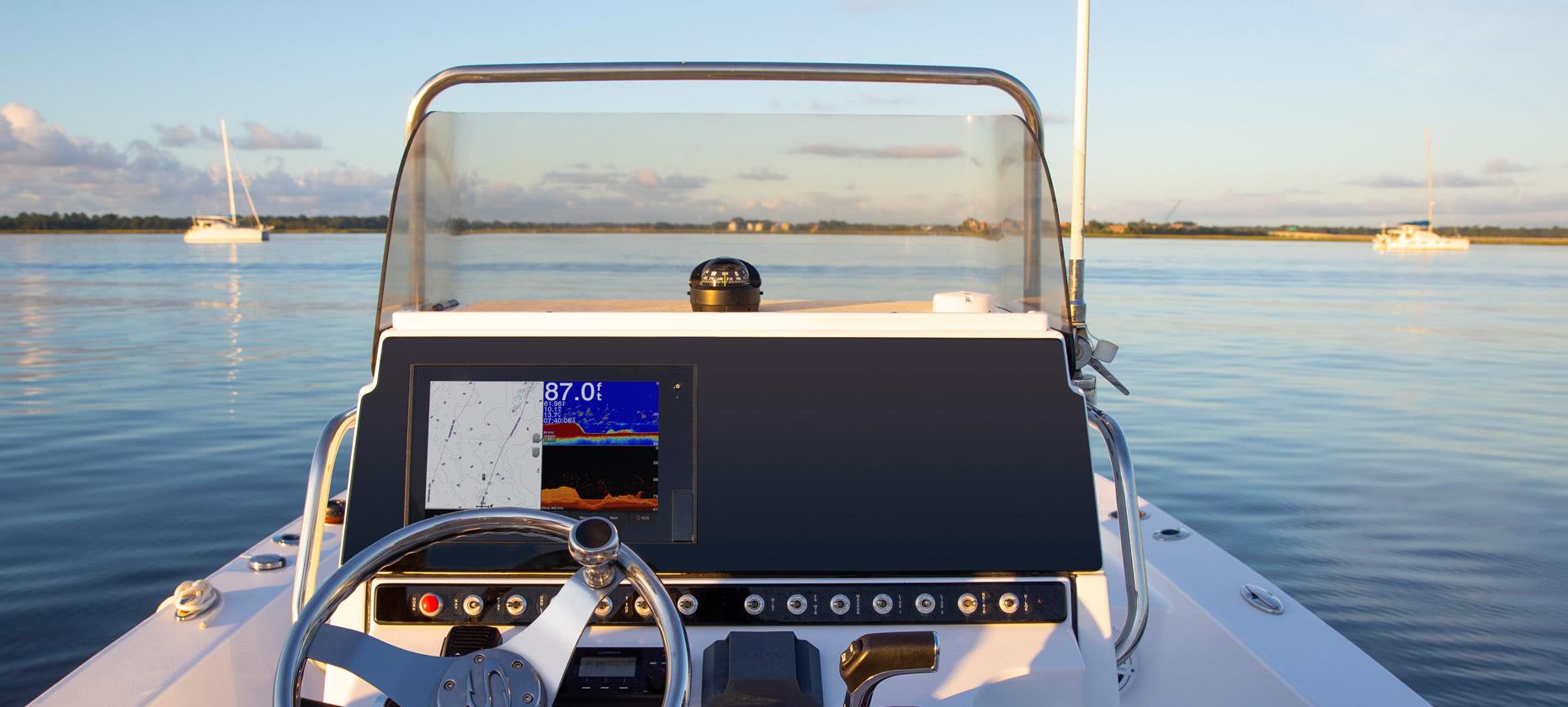 Sonar für Boote