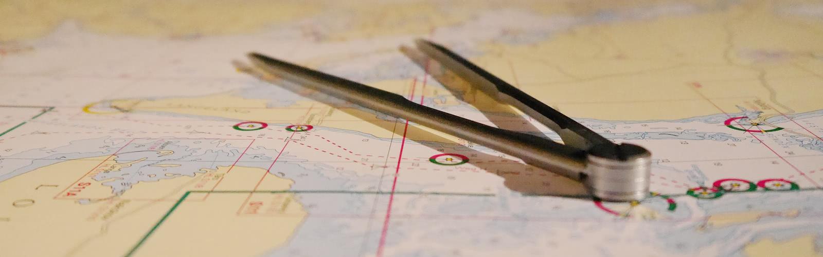 Programación de cartas náuticas