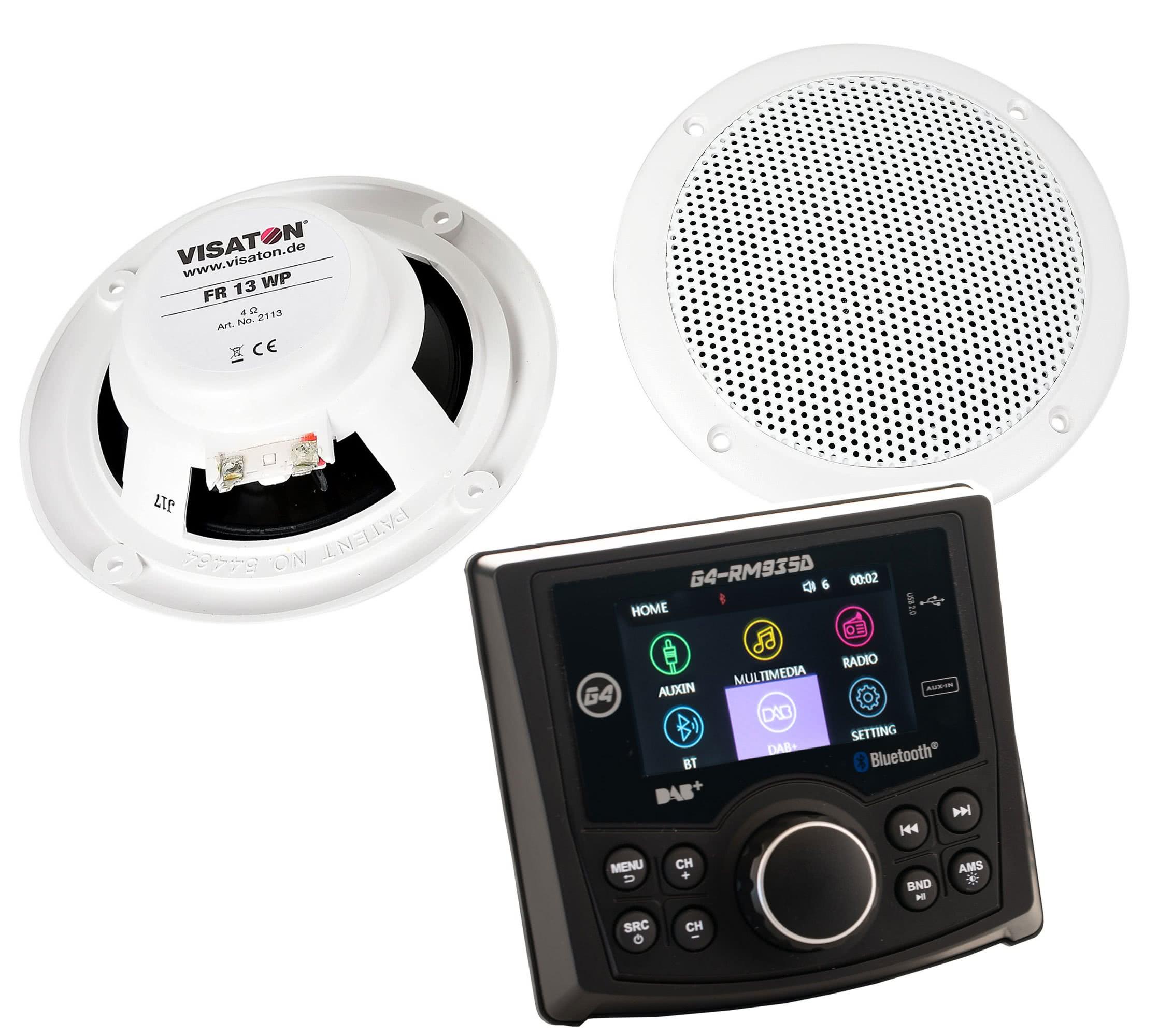 radio-speaker set