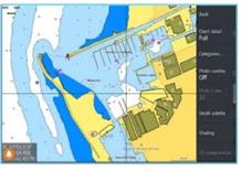 Detaillierte Vektor-Seekarten