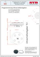Scheda tecnica - Sensore per serbatoio ad ultrasuono