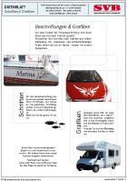 Scheda Lettere per barche