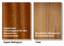 Plywood Decorative Veneers Sapeli Mahagoni and Teak