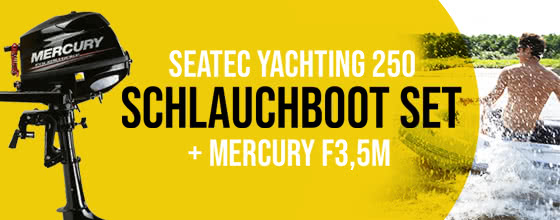 Yachting 250 + mercury f3,5m