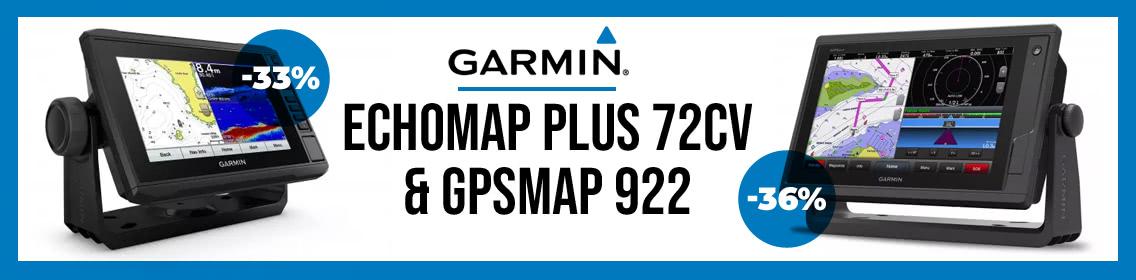 Garmin Echomap plus 72cv & GPSmap 922