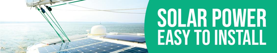 Solar power on board