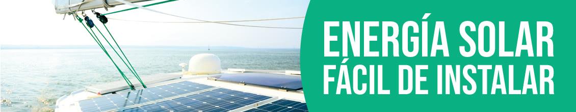 Energía solar a bordo