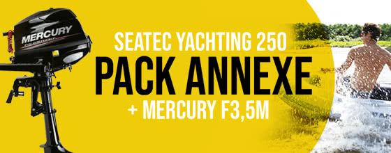 Yachting 250 + mercury f3,5m
