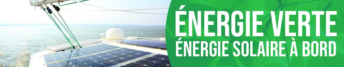 Énergie solaire à bord