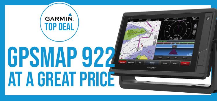 Garmin GPSMAP 922 Top Offer