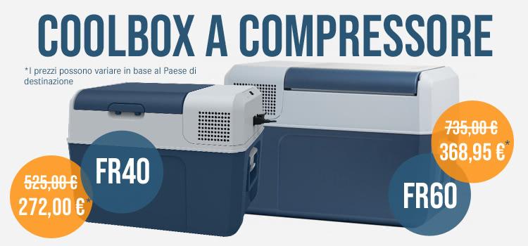 Mobicool Kompressor-Kühlbox FR40