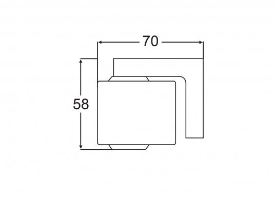 Ideal für Kartentische, Kojen und Sitzecken – der Leuchtkopf kann um 340° gedreht und um 330° geschwenkt werden. Für blendfreies Licht kann eine rote Lichtscheibe angebracht werden. (Bild 5 von 5)
