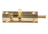 Barrel Bolt / polished brass