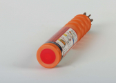 Handheld Orange Smoke Flares