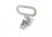 Fold-Away Safety Step / Stainless Steel