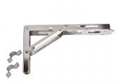 Rail Hinge for Folding Tables