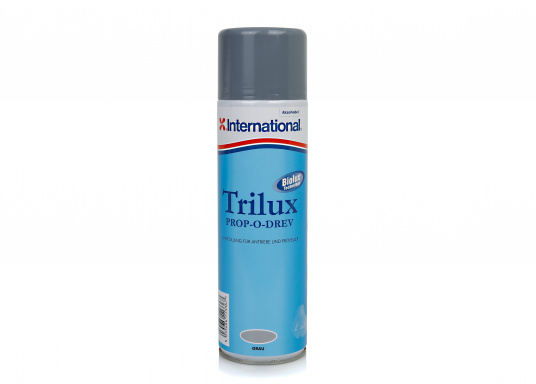 TRILUX PROP-O-DREV is a low-friction antifouling, ideal for drives, propellers, trim tabs, etc... In combination with the primer VC PROP-O-DREV, this antifouling can also be applied to aluminum.