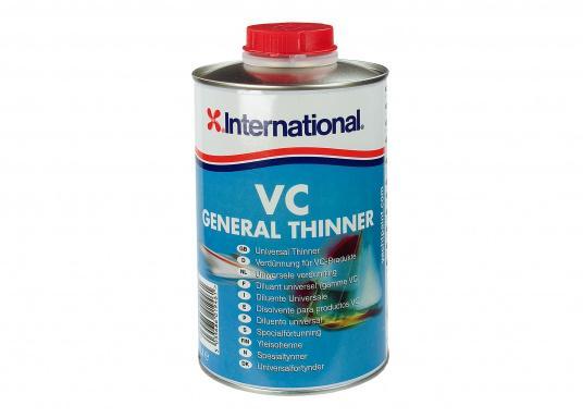 VC GENERAL THINNER ist ein Universalverdünner für alle VC Produkte. Dieser Verdünner kann auch eingesetzt werden, um VC 17m zu entfernen.