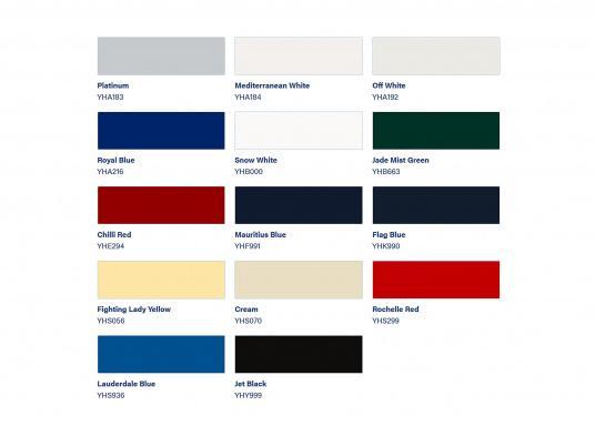 PERFECTION bietet außergewöhnliche Widerstandsfähigkeit in maritimer Umgebung und kombiniert Hochglanz mit exzellenter Farbtonbeständigkeit.Erhältlich in verschiedenen Farben, Farbtöne untereinander mischbar.  (Bild 2 von 2)
