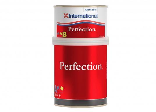 PERFECTION bietet außergewöhnliche Widerstandsfähigkeit in maritimer Umgebung und kombiniert Hochglanz mit exzellenter Farbtonbeständigkeit.Erhältlich in verschiedenen Farben, Farbtöne untereinander mischbar.