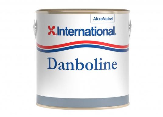 Schützen Sie Bilgen, Stauräume und Schotten! DANBOLINE ist beständig gegen Spuren von Öl und Treibstoff. Lieferbar in Weiß und Grau.