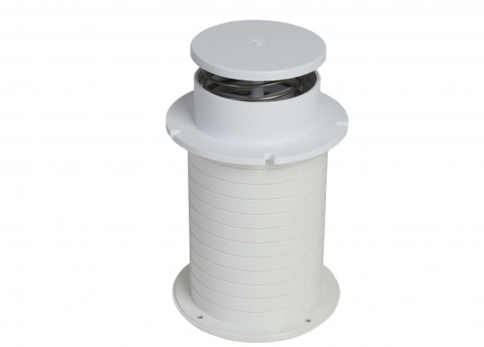 Boîte dorade profilée et polyamide. Résiste aux impacts et aux UVs. Ouverture depuis l'intérieur. Agit comme aérateur et extracteur. (Image 7 de 10)