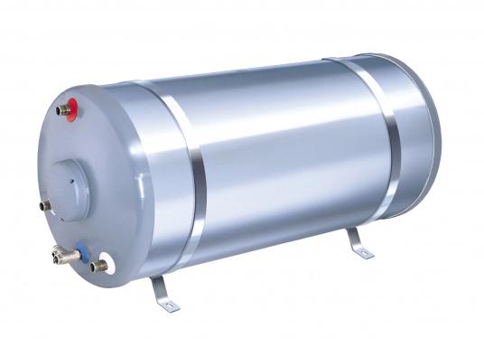 Qualitäts-Warmwasserboiler– sowohl Tank als auch Gehäuse sind aus hochwertigem, rostfreiem Stahl gefertigt und der Boiler ist mit einer starken Schauisolierung versehen. Erhältlich in verschiedenen Volumengrößen.