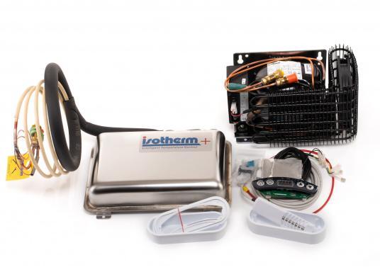 Die Isotherm ASU-Systeme wurden zum Einbau in vorhandene Kühlboxen entwickelt und vor allem für den Einsatz auf Segelbooten vorgesehen. Das ASU-System erlaubt maximale Kühlleistung bei minimaler Belastung der Batterien. (Bild 4 von 4)