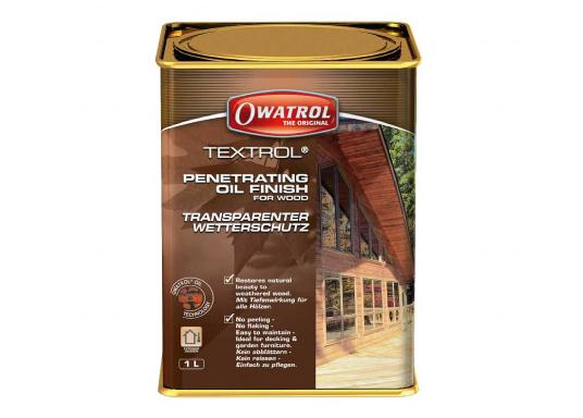TEXTROL penetrates and protects the wood tone. Non-film forming, it will not crack, peel or flake. Suitable for all&nbsp&#x3B;exterior&nbsp&#x3B;wood&nbsp&#x3B;surfaces, soft or hardwood.