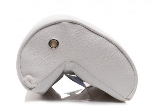 Winkelkissen aus Schaumstoff, bezogen mit hochwertigem Skai-Kunstleder. Einfache Montage ohne Bohren.  (Bild 3 von 5)