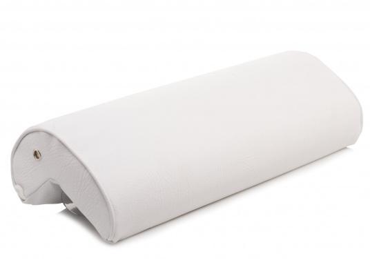 Winkelkissen aus Schaumstoff, bezogen mit hochwertigem Skai-Kunstleder. Einfache Montage ohne Bohren.  (Bild 2 von 5)