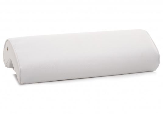 Winkelkissen aus Schaumstoff, bezogen mit hochwertigem Skai-Kunstleder. Einfache Montage ohne Bohren.
