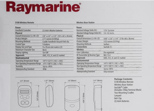 Mit den kabellosen Fernbedienungen von Raymarine haben Sie die volle Kontrolle über Ihren Raymarine Autopiloten. Die Bedienung ist einfach, und über die intuitive Menüstruktur finden Sie sofort zu allen wichtigen Funktionen.  (Bild 14 von 15)