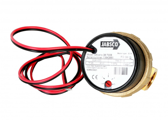 JABSCO Umwälzpumpe, ideal geeignet für Heizungen, Klimaanlagen und Motoren. Pumpt bis zu 21 Liter / Minute bei 0,10 bar. Die Pumpe bietet 5 Leistungsstufen für variable Förderleistung.  (Bild 2 von 4)