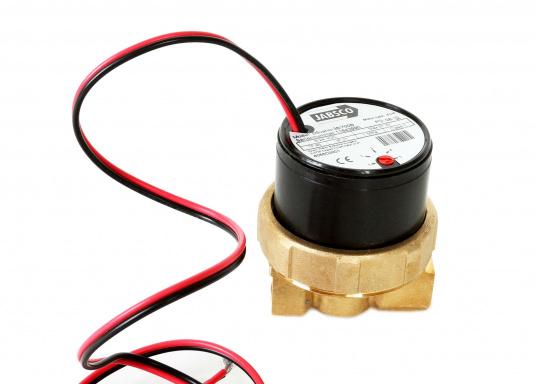 JABSCO Umwälzpumpe, ideal geeignet für Heizungen, Klimaanlagen und Motoren. Pumpt bis zu 21 Liter / Minute bei 0,10 bar. Die Pumpe bietet 5 Leistungsstufen für variable Förderleistung.  (Bild 3 von 4)
