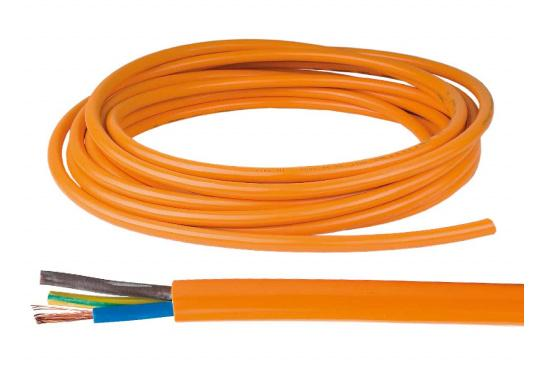 Extremely abrasion-resistant, tearproof and cut-resistant shore connection cable for both fixed installation and mobile use. The cable offers a degree of high flexibility and durability, even at low temperatures.