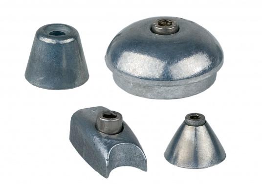 Diese Anoden wurde aus gutem, langlebigem Material gefertigt. Erhältlich in verschiedenen Ausführungen.