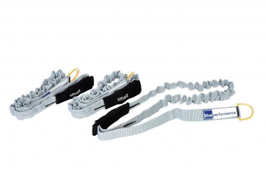 Sicher eingebunden! Das 25 mm breite Gurtband ist in der Länge verstellbar –hervorragend zum sicheren einbinden von Segeln. Lieferbar in 3 unterschiedlichen Größen. Packungsinhalt: 3 Stück.
