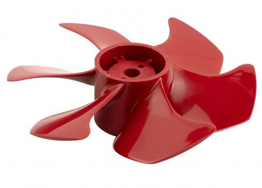 6-Blatt-Propeller für Bugschrauben mit einem hydrodynamisch optimierten Wirkungsgrad. Der Propeller verursacht nur sehr wenig Kaviation und hat einen sehr niedrigen Geräuschpegel. Erhältlich in verschiedenen Ausführungen.  (Bild 7 von 8)