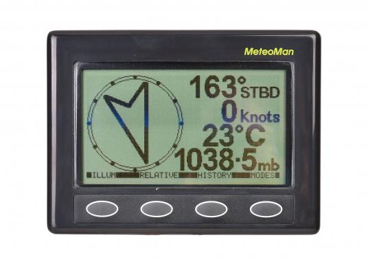 Der MeteoMan liefert präzise, hochauflösende Luftdruck- und Windgeschwindigkeits-Aufzeichnungen. Es ist einfach in der Bedienung, zuverlässig, stabil und hat einen sehr geringen Stromverbrauch.