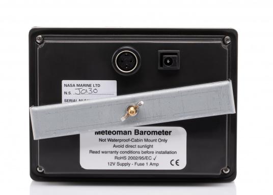 Der MeteoMan liefert präzise, hochauflösende Luftdruck- und Windgeschwindigkeits-Aufzeichnungen. Es ist einfach in der Bedienung, zuverlässig, stabil und hat einen sehr geringen Stromverbrauch.  (Bild 4 von 6)